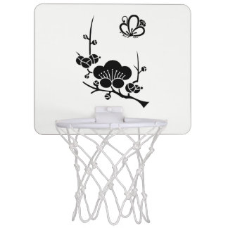 In branch plum medium shade plum butterfly mini basketball hoop