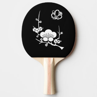 In branch plum medium shade plum butterfly ping pong paddle