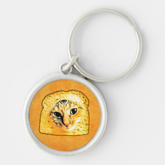 In Bread Cat Keychain