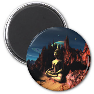 In Buddha's Hand Magnet