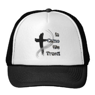 In Camo We Trust Gifts for Hunters Mesh Hat