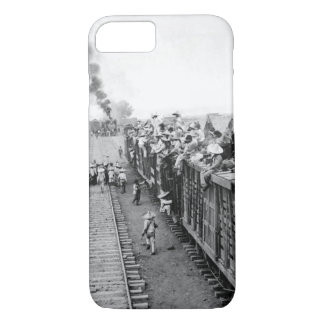 In Camp near San Antonio_War Image iPhone 7 Case