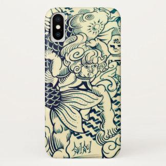 In Carp with KINTARO carp Kintarou iPhone X Case