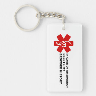 In Case of Emergency Delete My Browser History Keychain