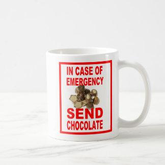 In Case of Emergency, Send Chocolate!  Coffee Mug