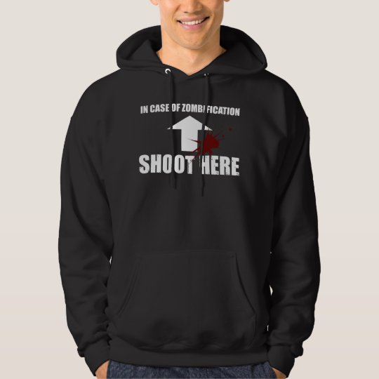 In Case Of Zombification... Hoodie