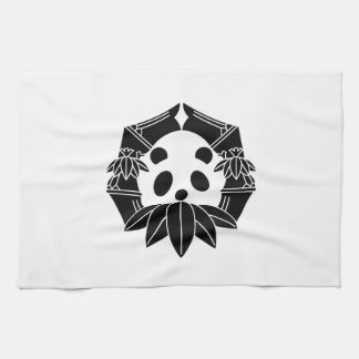 In change bamboo circle panda kitchen towel