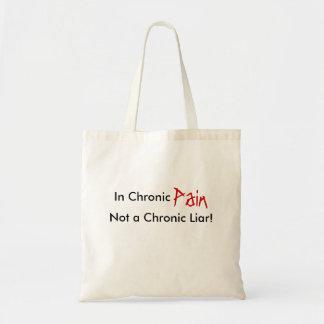 In Chronic, Pain, Not a Chronic Liar!