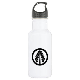 In circle 幣 532 ml water bottle