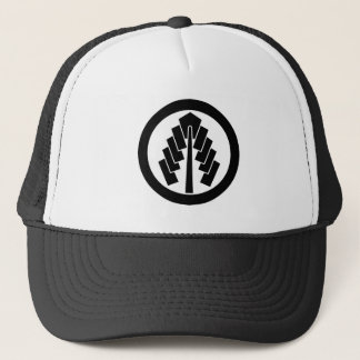 In circle 幣 trucker hat