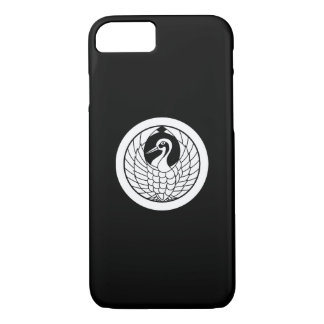 In circle circle of crane iPhone 8/7 case