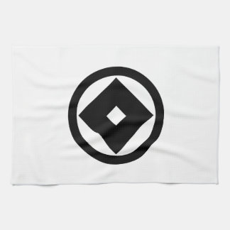 In circle nail claw kitchen towel