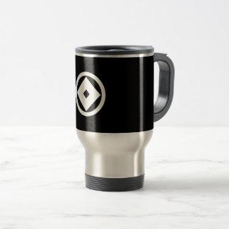 In circle nail claw travel mug