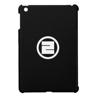 In circle one angular letter case for the iPad mini