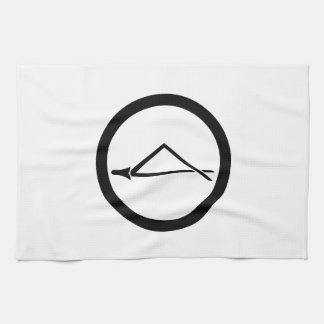 In circle one breaking pine needle kitchen towel