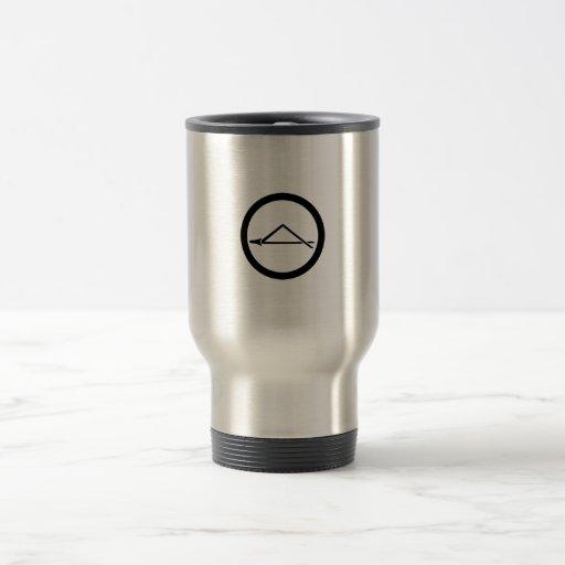 In circle one breaking pine needle coffee mugs