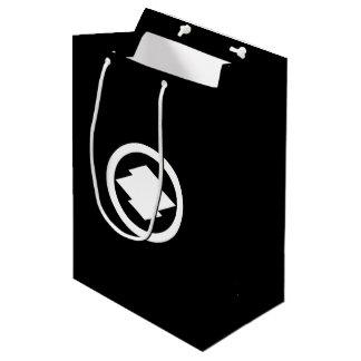 In circle pine skin water caltrop medium gift bag