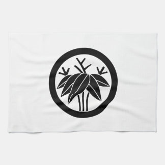 In circle root bamboo grass kitchen towel