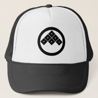 In circle sixth trucker hat