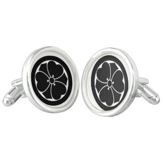 In circle sword vinegar gruel grass cuff links