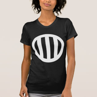 In circle vertical three pulling T-Shirt