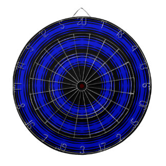In Circles - Blue Version Dart Boards