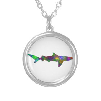 IN COASTAL REGIONS SILVER PLATED NECKLACE