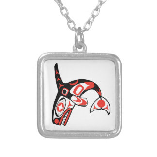 IN DEEP WATERS SILVER PLATED NECKLACE