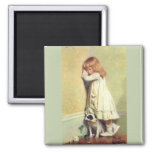 In Disgrace by Charles Burton Barber Refrigerator Magnet