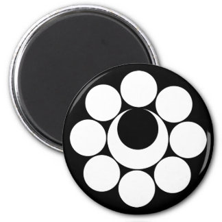 In eight heavenly bodies month 2 inch round magnet