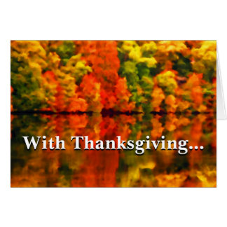 In everything give thanks 1 Thessalonians 5:18 Greeting Card