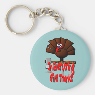 In Everything Give Thanks 1 Thessalonians 5 18 Keychain