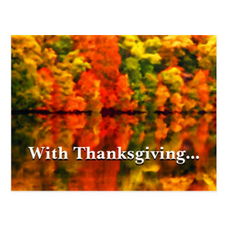 In everything give thanks 1 Thessalonians 5:18 Postcard
