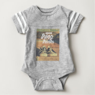 In Everything Give Thanks Baby Bodysuit