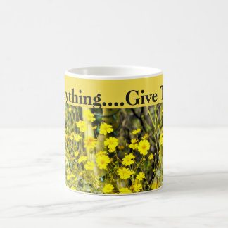 In Everything, Give Thanks Classic Coffee Mug