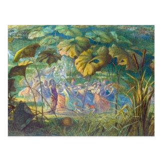 In Fairyland: An Elfin Dance Postcard