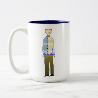 In fashion Two-Tone coffee mug