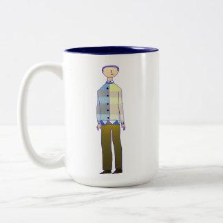 In fashion Two-Tone coffee mug