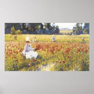 In Flanders Field, Robert Vonnoh Poster