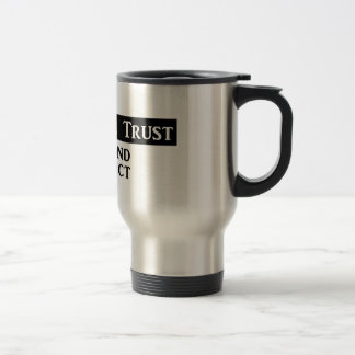 "'In Fog We Trust"" - Commuter Mug"