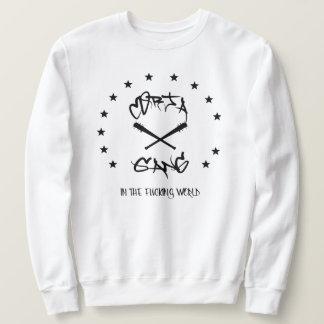 in fu***** world sweatshirt