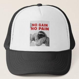 in gain in pain trucker hat