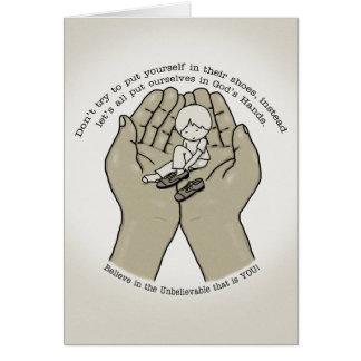 In God's Hands Card