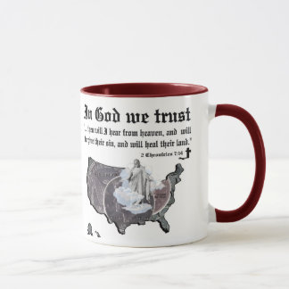IN GOD WE TRUST - 2 Chronicles 7:14 Mug