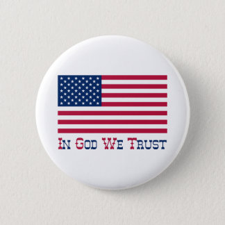In God We Trust 2 Inch Round Button