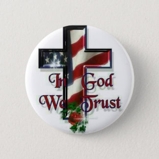 In God we trust 2 Inch Round Button