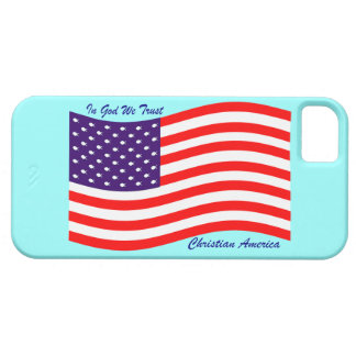 In God We Trust ~ Christian America iPhone 5 Cases