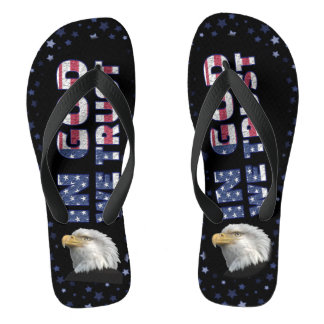 IN GOD WE TRUST FLIP FLOPS