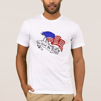 In God We Trust, Red White and Blue T-Shirt
