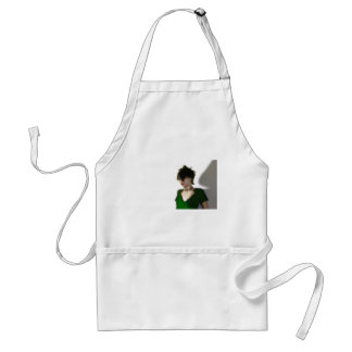 In green aprons
